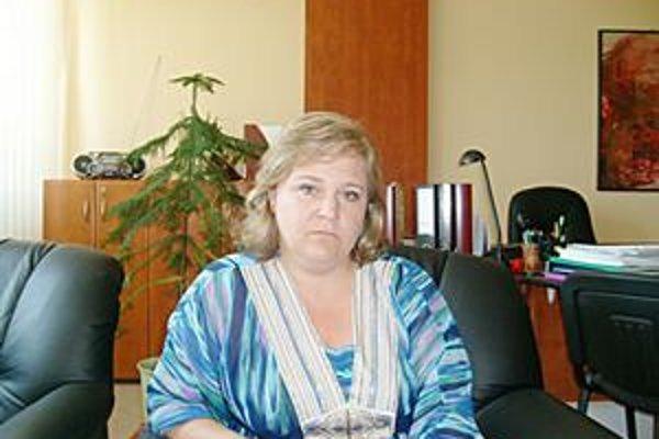 M. Holíková, vedúca finančného odboru PSK.