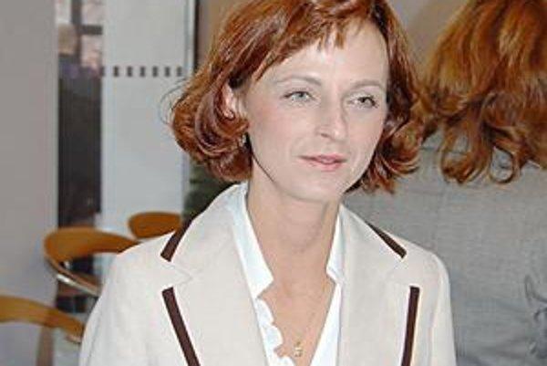 Marta Kollárová. Jej návrh neprešiel.