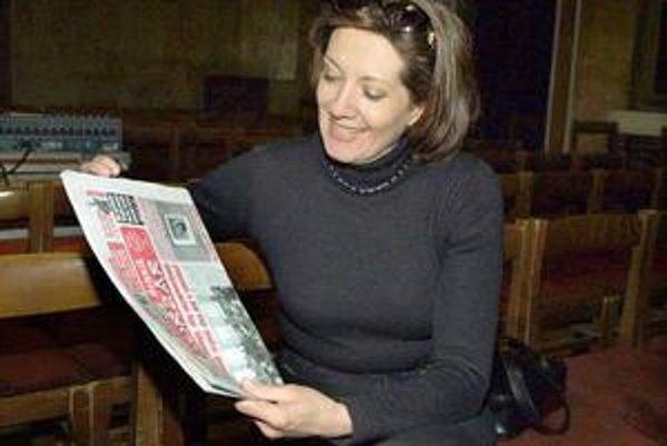 Marie Rottrová. Pri čítaní Korzára.