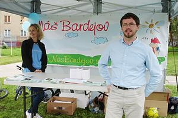 Martin Šmilňák. Kandidát na primátora Bardejova.
