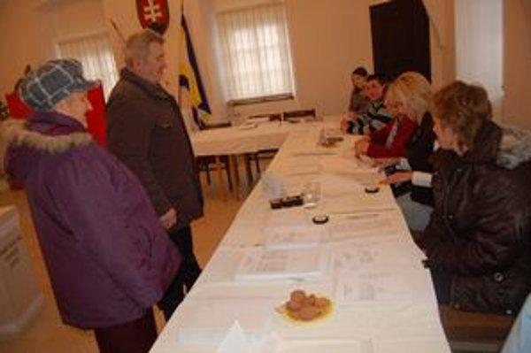 Voľby v Šarišských Michaľanoch.