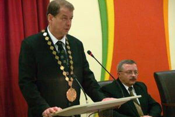 Peter Obrimčák. Primátor mesta Stropkov.