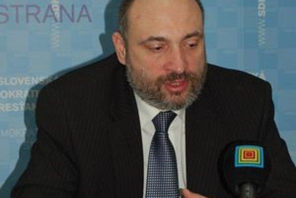 Poslanec Štefan Kužma.