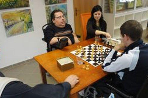 Hráči. Účastníci Šarišskej šachovej šou v Prešove.