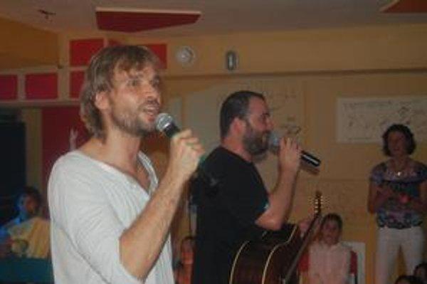 Netypické duo. Ivan Tásler a Ján Ďurovčík.