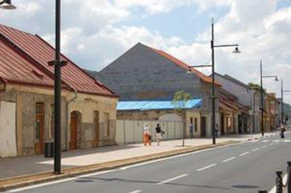 Domy v centre Sabinova mesto po vysťahovaní Rómov predalo alebo nechalo opraviť.