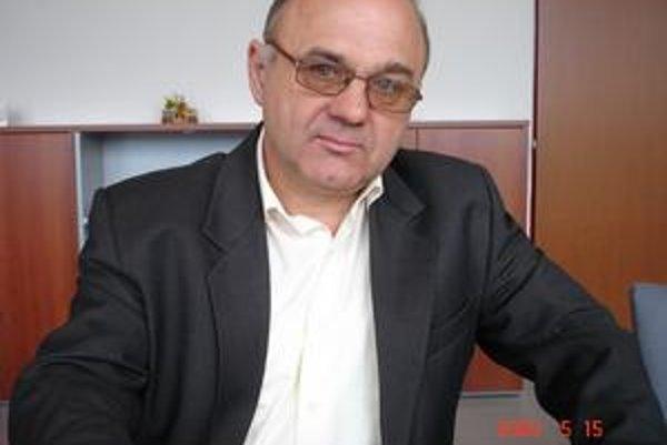 Viliam Holeva. Riaditeľ bardejovského úradu práce.