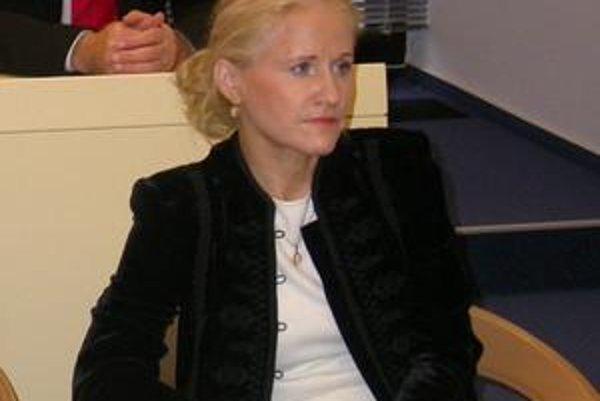 Štefánia Andraščíková. Predsedníčka školskej komisie.