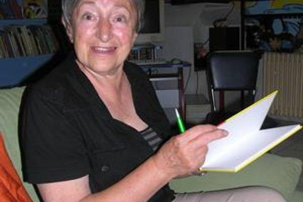 Marianna Grznárová. Je autorkou slávnej knihy a večerníčkov o Maťkovi a Kubkovi.