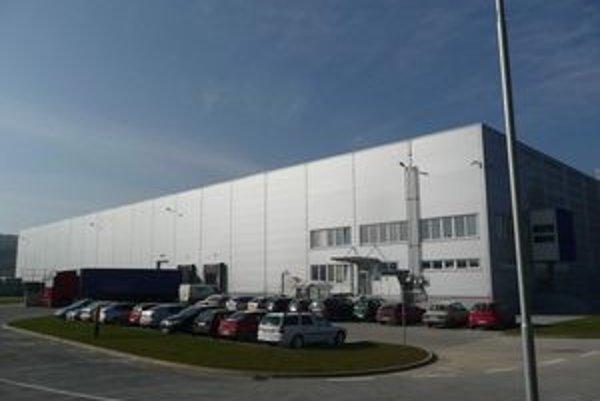 Nové logistické centrum vyrástlo blízko Prešova.