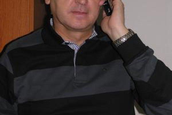 Ján Hudacký. V krajskej centrále KDH počas volebnej noci.