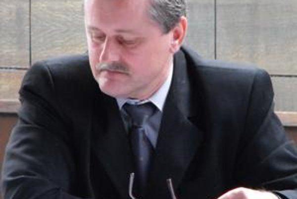 Ján Čabala. Prednosta Mestského úradu v Giraltovciach.