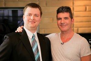 Miro Sýkora sa stretol so Simonom Cowellom.