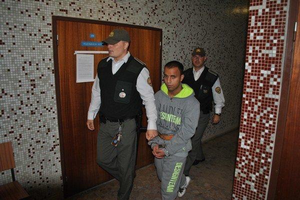 Marek na krajskom súde. Potvrdil mu 7-ročné väzenie.