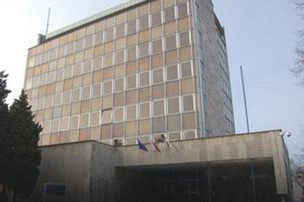 Mestský úrad v Trebišove.