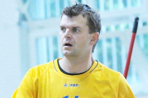 Slavomír Seman. Hrajúci tréner Sečoviec.