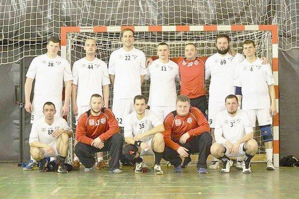 Hádzanári ŠK Noxwel Sečovce. V uplynulom ročníku prvej ligy splnili cieľ, dostali sa do baráže.