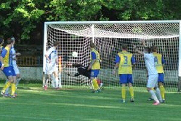 Rozhodujúci gól zápasu zaznamenal Martin Kováč.