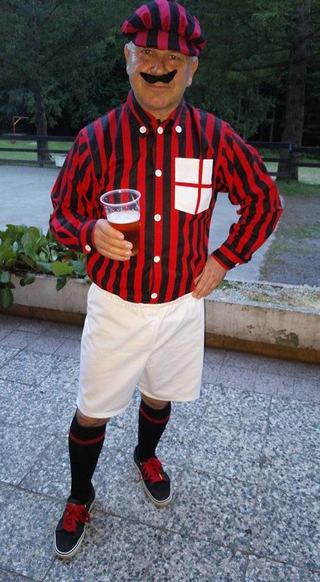 Vladimír Dulaj ako Kilpin - zakladateľ AC Milána.