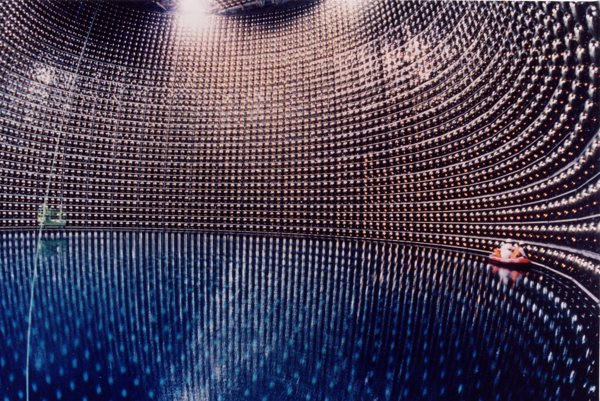 Detektor na zachytávanie neutrín.