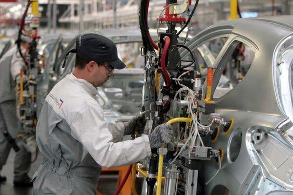 Výroba v trnavskom závode PSA.