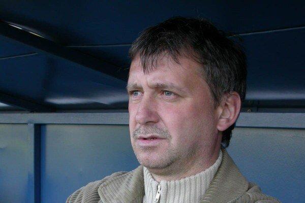 Tréner Emil Jacko. Naznačil, že v Lipanoch zostanú iba tí, čo chcú bojovať.
