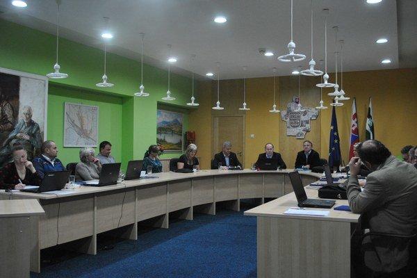Mestské zastupiteľstvo v Lipanoch.