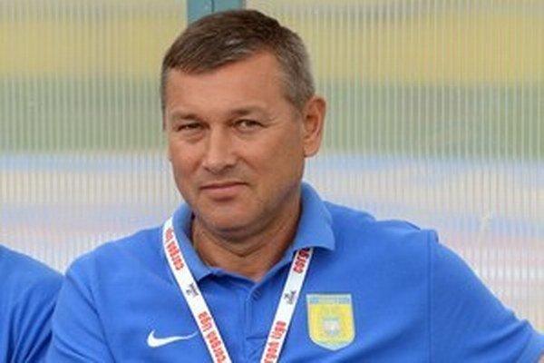 Tréner Sabinova Jaroslav Galko.