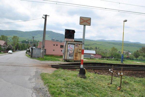 Problémové železničné priecestie.