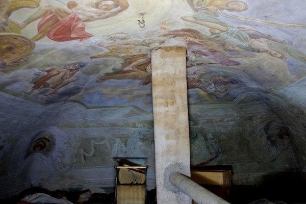 Klenba. Zachovali sa všetky unikátne maľby.