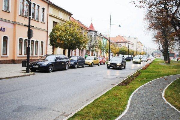 Doprava v meste je prehustená. Denne tadiaľto prejde aj 13-tisíc áut.