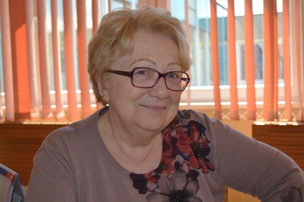 Mária Magyarová je učiteľkou už úctyhodných 50 rokov.
