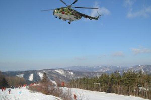 Nedávno mali na Lysej záchranári Horskej služby, vojaci a hasiči cvičenie.