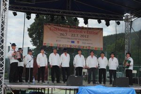 Ľucinske chlopi na festivale vystupovali každý deň.