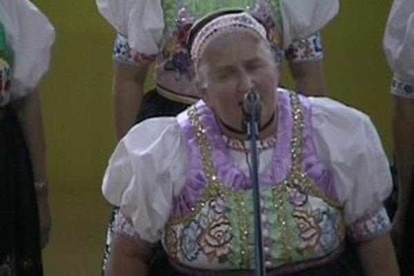 Jolana Palková. Medzi sólistkami bola najlepšia.
