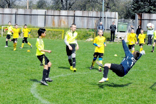 Štvrté miesto. Mladší žiaci FA Dovaj držia štvrtú priečku.