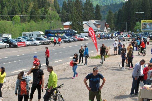 Otvorenie letnej sezóny. Zabehať si prišlo takmer 200 bežcov.