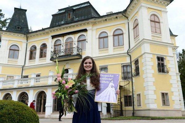 Na snímke víťazka kastingu Erika Došeková z Krásnej Vsi.