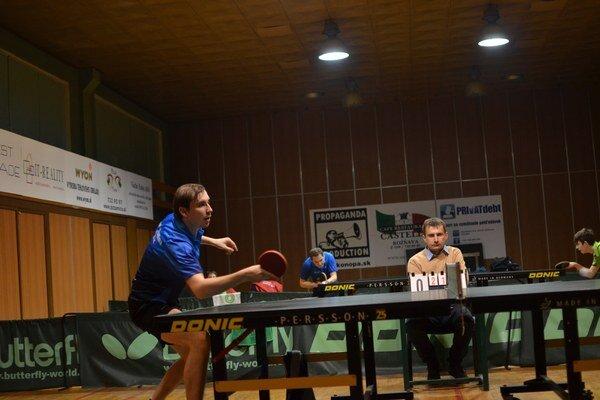 Jednotka. Prvý hráč rožňavského Geológa Martin Gumáň má za sebou veľmi dobrú sezónu.