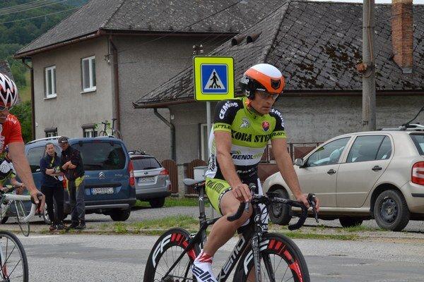 Ísť naplno. Jaroslav Chovanec sa snaží ísť vkaždých pretekoch ligy naplno.