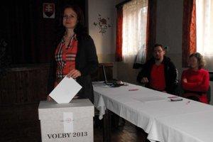 Voliči. Tak ako všade, aj v Gemeri zaznamenali nízku volebnú účasť.