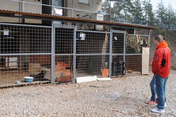 Rožňavský útulok pre psy. Tu končia zatúlané psy, ktoré nemajú majiteľa.