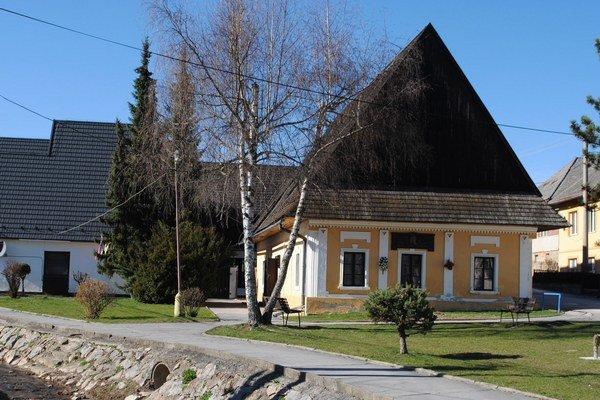 Pamätný dom P. J. Šafárika. Je pre verejnosť túto sezónu otvorený.
