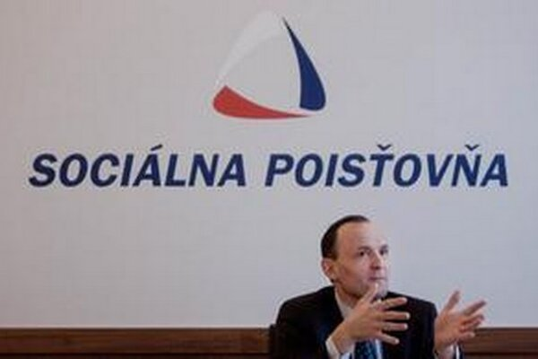 Ľuboš Lopatka ešte ako šéf Sociálnej poisťovne.
