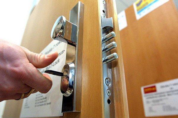 Bezpečnostné dvere sa vyplatia.