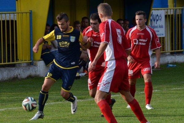 Gól. V ostatných štyroch kolách dali Rožňavčania len jeden gól. Autorom bol Filip Kovács.