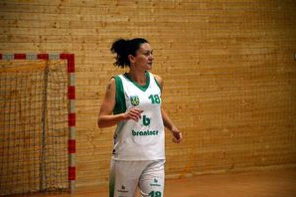 Zostala. Jednou z hráčok, ktoré zostali Rožňave verné aj v novej sezóne, je Viera Libičová.