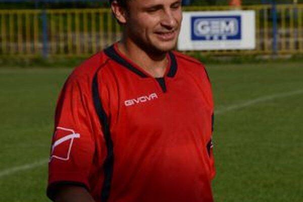 Jesenný kanonier Filip Pollák.