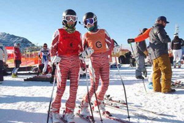Počasie. Kým na pretekoch svetového pohára počasie lyžiarom prialo, počas európskeho pohára to bolo horšie.