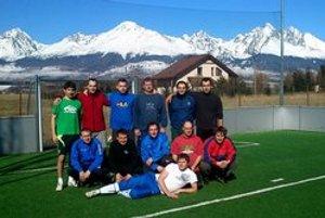 Pre mužstvo Baník Rož. Bystré bolo sústredenie vo Vysokých Tatrách prvé v histórii klubu.